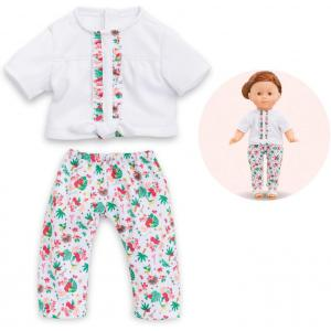 Corolle - 210950 - Les Tenues Complètes Ma Corolle  blouse & legging tropicorolle - age 4+ (398828)