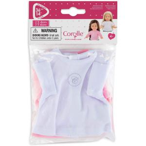 Corolle - 210130 - Ma Corolle 2 t-shirts - taille 36 cm - âge : 4+ (398866)