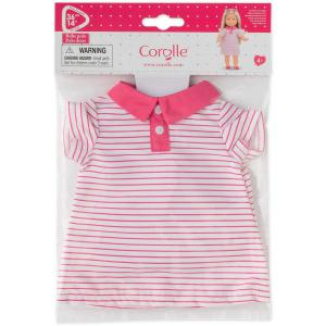 Corolle - 210980 - Ma Corolle robe polo -rose - taille 36 cm - âge : 4+ (398920)