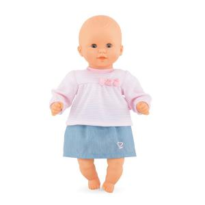 Corolle - 110190 - Bébé top et jupe - taille 30 cm - âge : 18 mois (398938)