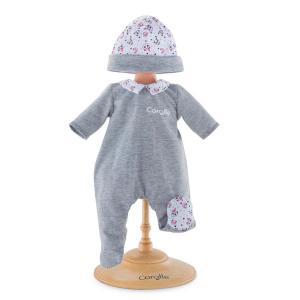 Corolle - 110040 - Bébé pyjama panda party - taille 30 cm - âge : 18 mois (398948)
