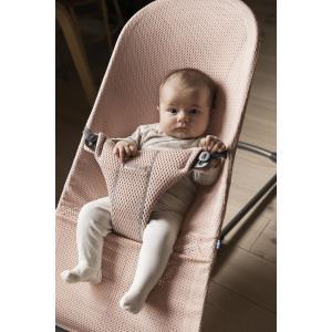 Babybjorn - 606001 - Pack Transat Bliss (Rose nacré, Mesh 3D) + Jouet Amis volants (399132)