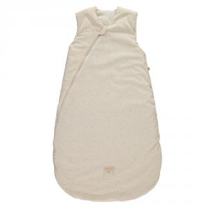 Nobodinoz - N109299 - Gigoteuse Cocoon 90 cm Honey Sweet Dots Natural (399260)