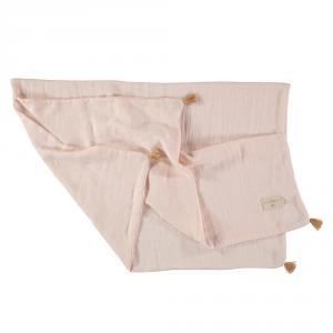 Nobodinoz - N109725 - Couverture d'été Treasure 70x100 Dream Pink (399328)