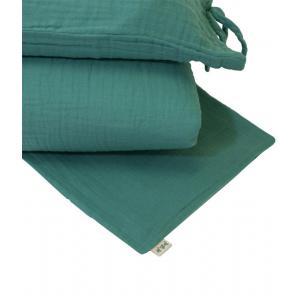 Numéro 74 - 38976 - Parure de lit bleu turquoise (399418)