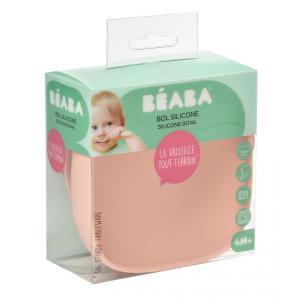 Beaba - 913440 - Bol silicone ventouse pink (399474)