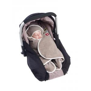 Red Castle  - 0836152 - BABYNOMADE 0-6M - double polaire BEIGE CHINE/ECRU (399566)