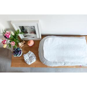 Red Castle  - 0402167 - Matelas + housse matelas à langer - Fleur de coton ® Gris Perle (399618)