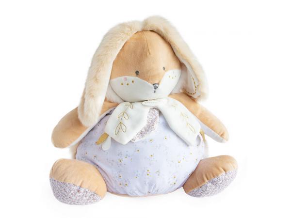 Lapin de sucre blanc - range pyjama - taille 38 cm