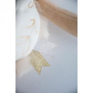 Doudou et compagnie - DC3485 - Lapin de sucre blanc - pantin avec doudou  - taille 31 cm (399754)