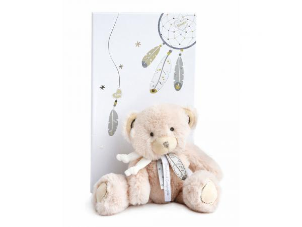 Attrape-reve - ours beige - taille 22 cm