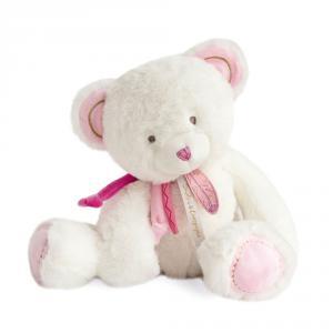 Doudou et compagnie - DC3471 - Attrape-reve - ours rose- taille 30 cm (399772)