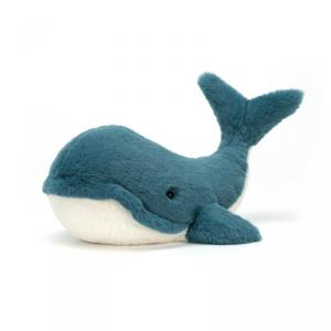 Jellycat - WW3L - Peluche Whale Wally Animal Marin Moyen - 35 cm (399946)