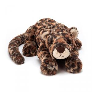 Jellycat - LIV1L - Peluche leopard Livi - L = 14 cm x l = 46 cm x H =12 cm (399964)