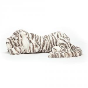 Jellycat - SACRB1T - Sacha Snow Tiger Really Big - 23  cm (399968)