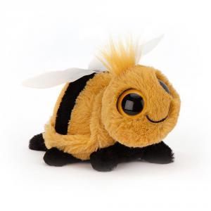 Jellycat - FRI6B - Peluche abeille Frizzles - L = 9 cm x l = 14 cm x H =9 cm (400052)