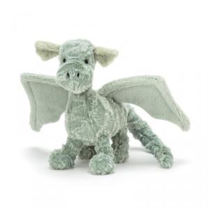 Jellycat - D3D - Peluche Dragon Petit Animal légendaire Drake - 13 cm (400144)