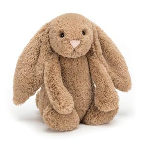 Jellycat - BASS6BIS - Peluche Petit Lapin Timide Biscuit  - 18 cm (400192)