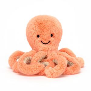 Jellycat - ODB4P - Peachie Octopus Baby - 14 cm (400262)