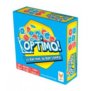 Topi Games - OPT-MI-889001 - Optimo ! - Format Micro (11 x 11 x 4) (400914)