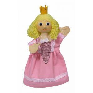 Bass et Bass - B08427 - Marionnette Princesse Rose 30 Cm - Fabriqué en Europe - Jouet d'Hier (401898)