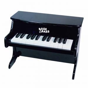 Bass et Bass - B81873 - Piano Mécanique Rouge Grand Modèle 25 Notes - Instrument de Musique pour enfant (402234)