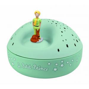 Trousselier - 5031 - Veilleuse - Projecteur d'Etoiles Musical le Petit Prince© 12 Cm - Piles Inclues (403394)