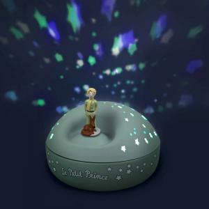 Le Petit Prince - 5031 - Veilleuse - Projecteur d'Etoiles Musical le Petit Prince© 12 Cm - Piles Inclues (403394)