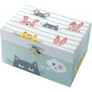 Trousselier - S50804 - Coffret Musical Phosphorescent Chat (403456)
