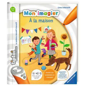 Ravensburger - 00695 - Jeux éducatifs Tiptoi - Mon imagier - A la maison (403758)