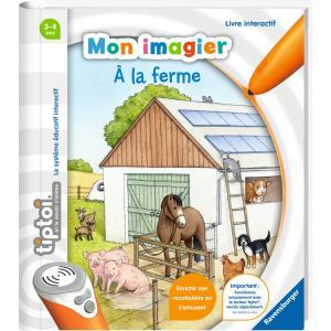 Ravensburger - 00027 - Jeux éducatifs Tiptoi - Mon imagier - A la ferme (403760)
