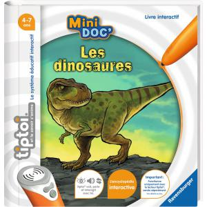Ravensburger - 00028 - Jeux éducatifs Tiptoi - Mini Doc' - Les dinosaures (403762)