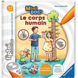 Ravensburger - 00030 - Jeux éducatifs Tiptoi - Mini Doc' - Le corps humain (403764)