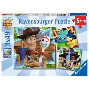Ravensburger - 08067 - Puzzles 3x49 pièces - Toy Story 4 (403826)