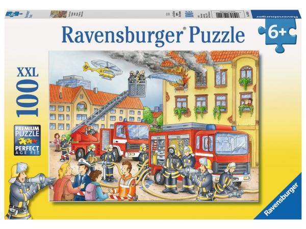 Puzzle 100 p xxl - nos pompiers
