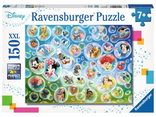 Puzzle 150 p xxl - bulles de savon amusantes / disney
