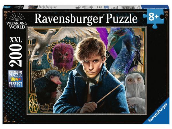 Puzzle 200 p xxl - les animaux fantastiques de norbert dragonneau