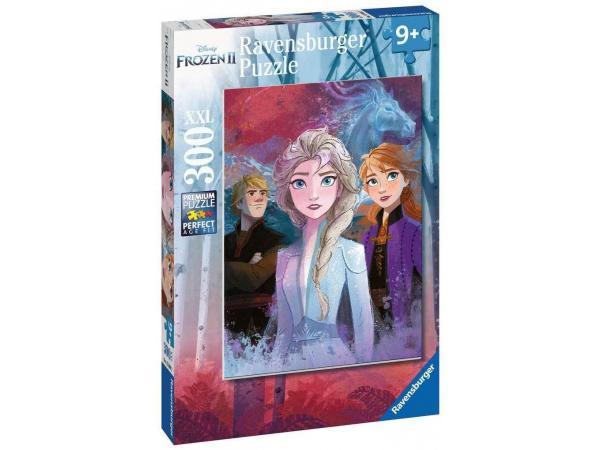 Puzzle 300 pièces xxl - elsa, anna et kristoff / disney la reine des neiges 2