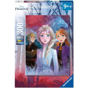 Disney - 12866 - Puzzle 300 pièces XXL - Elsa, Anna et Kristoff / Disney La Reine des Neiges 2 (403886)