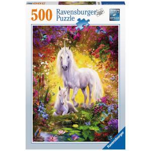 Ravensburger - 14825 - Puzzle 500 pièces - La licorne et son poulain (403914)