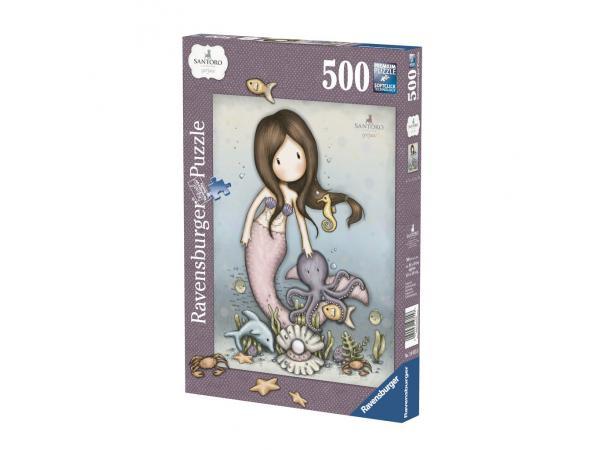 Puzzle 500 pièces - nice to sea you / gorjuss