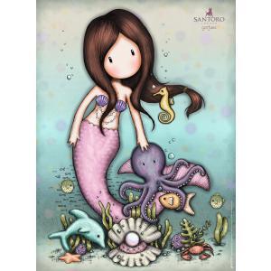 Ravensburger - 14815 - Puzzle 500 pièces - Nice to Sea You / Gorjuss (403916)