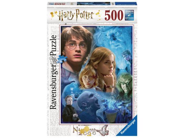 Puzzle 500 pièces - harry potter à poudlard
