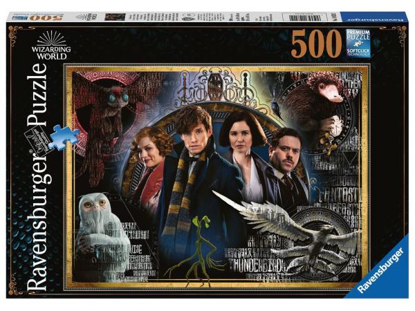 Puzzle 500 pièces - les animaux fantastiques : les crimes de grindelwald