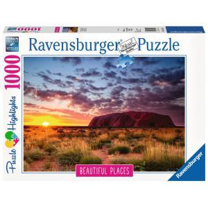 Ravensburger - 15155 - Puzzle 1000 pièces - Ayers Rock en Australie (Puzzle Highlights) (403930)