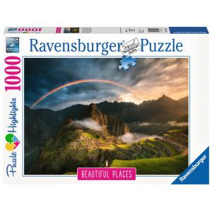 Ravensburger - 15158 - Puzzle 1000 pièces - Arc-en-ciel sur le Machu Picchu, Pérou (Puzzle Highlights) (403934)