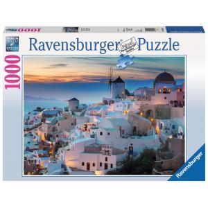 Ravensburger - 19611 - Puzzle 1000 pièces - Santorin (403936)