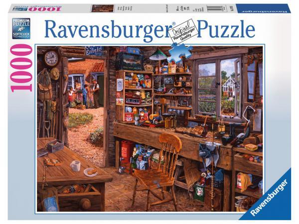 Puzzle 1000 pièces - l'atelier de papy