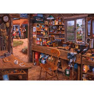 Ravensburger - 19790 - Puzzle 1000 pièces - L'atelier de Papy (403948)