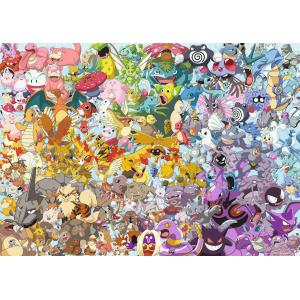 Ravensburger - 15166 - Puzzle 1000 pièces - Pokémon (Challenge Puzzle) (403976)